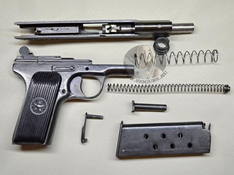 Охолощенный пистолет ТТ (1938-40 гг. выпуска)