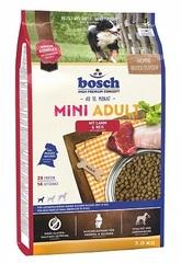 Корм для мелких собак Bosch Mini Adult с ягненком и рисом