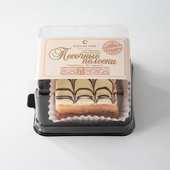 """Торт-пирожное """" Песочные полоски"""" 90 г"""