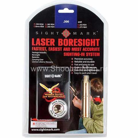 Лазерный патрон пристрелки Sightmark 300 Win Mag фото