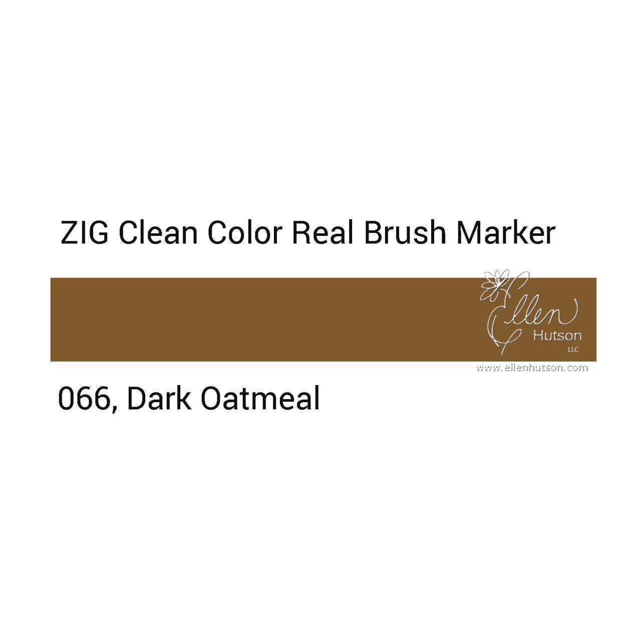 Маркер акварельный ZIG Clean Color Real Brush- штучно - 066