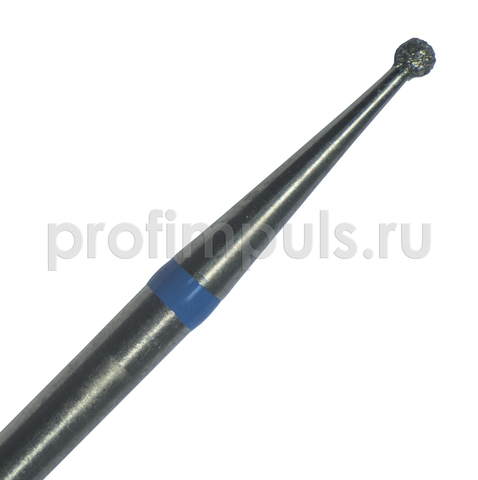 001.016 (МТА) фреза алмазная шарик 1,6 мм средней зернистости