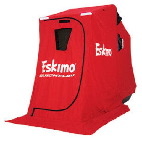 Зимняя палатка на санях Eskimo QuickFlip 1 w/ tripod chair NEW