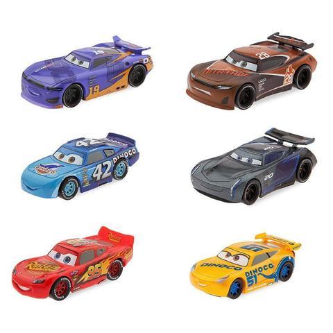 Набор из 6 машинок  (Vehicle Racecar) - Тачки 3 (Cars 3), Disney