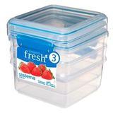 Набор контейнеров Fresh (3 шт.) 1,2 л, артикул 921630, производитель - Sistema