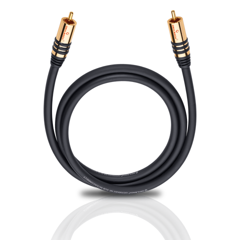 Oehlbach NF SUB 1.0m, кабель сабвуферный