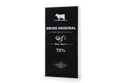 Горький шоколад с морской солью Swiss Original, 100г