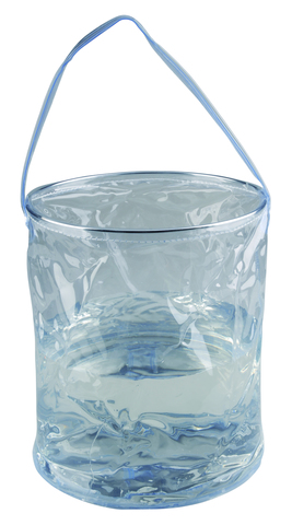 Ведро складное AceCamp Transparent Folding Bucket 10L