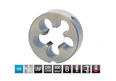 Плашка Ruko DIN EN22568 HSS UNF 3/4-16 D=45мм 240034UNF