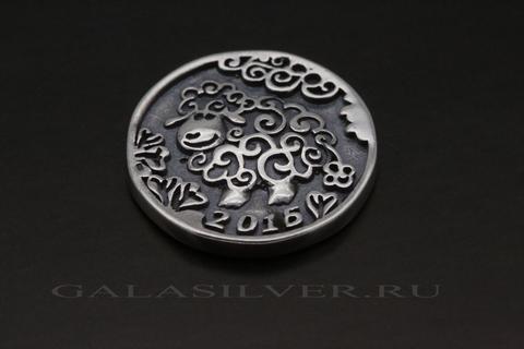 Сувенир из серебра 925