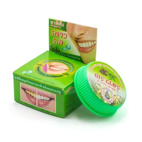 Зубная паста на основе трав