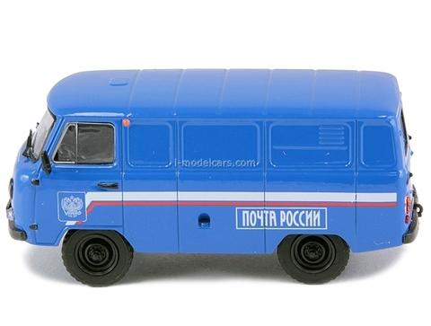 UAZ-3741 Post of Russia 1:43 DeAgostini Service Vehicle #31