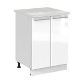 Кухня Капля 3D Шкаф нижний С 600