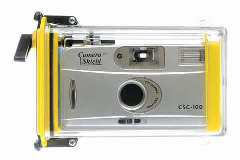 Подводный бокс CameraShield CSC-100 (Пленочная фотокамера CSC-100S в подарок).