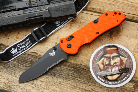 Складной нож Triage 915SBK-ORG