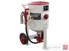 Пескоструйный аппарат DSMG-200 литров с дистанционным управлением