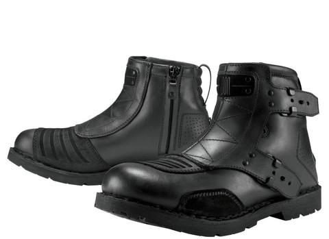 Мотоботы - ICON 1000 EL BAJO (черные)