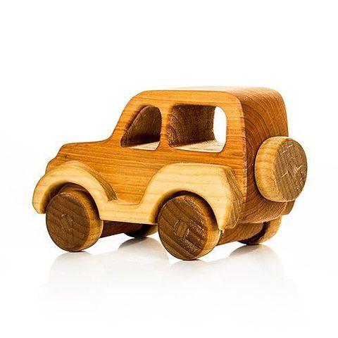 Машинка деревянная Джип