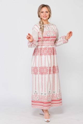 Платье льняное Земледелие