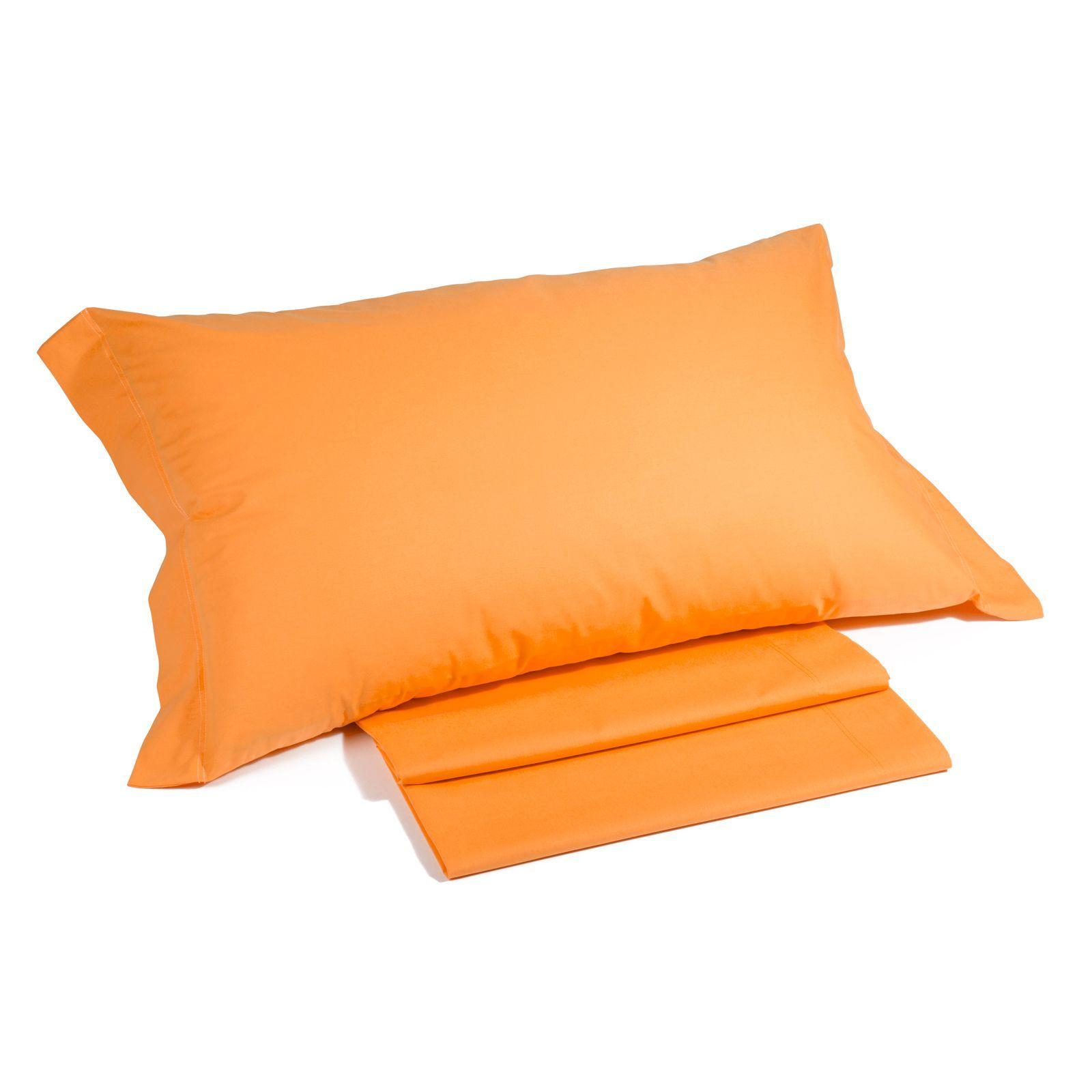 Наволочки для сна Наволочки 2шт 52х82 Caleffi Tinta Unita оранжевые komplekt-navolochek-caleffi-tinta-unita-oranzhevyy-italiya.jpg