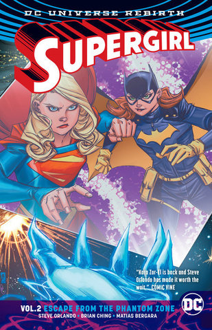 Supergirl Vol. 2 Escape From Phantom Zone (Rebirth)