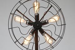 Напольная лампа Secret De Maison Лофт (LOFT)121F — черный матовый/Matte black