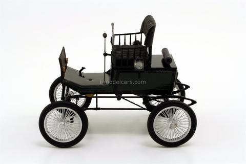 Steam car Dux two-seater 1901, JSC
