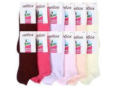 BB001 носки женские 36-41, (12шт) цветные