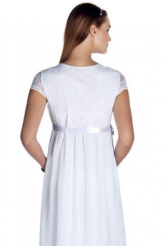 Платье 08698 белый