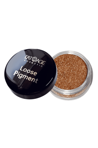 L'atuage Loose Pigment Тени-пигмент для век тон №609 бежевый нюд
