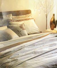 Постельное белье 2 спальное евро Casa Anversa Galaxy Marrone