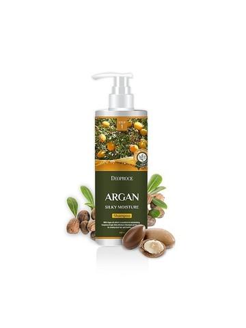 DEOPROCE HAIR ARGAN Шампунь для волос с аргановым маслом DEOPROCE SHAMPOO - ARGAN SILKY MOISTURE 1000мл