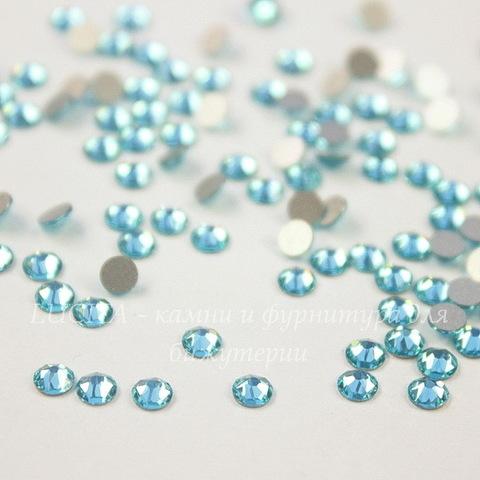 2088 Стразы Сваровски холодной фиксации Light Turquoise ss 12 (3,0-3,2 мм), 10 штук