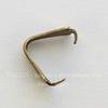 Винтажный декоративный элемент - держатель для кулона 8х4 мм (оксид латуни)