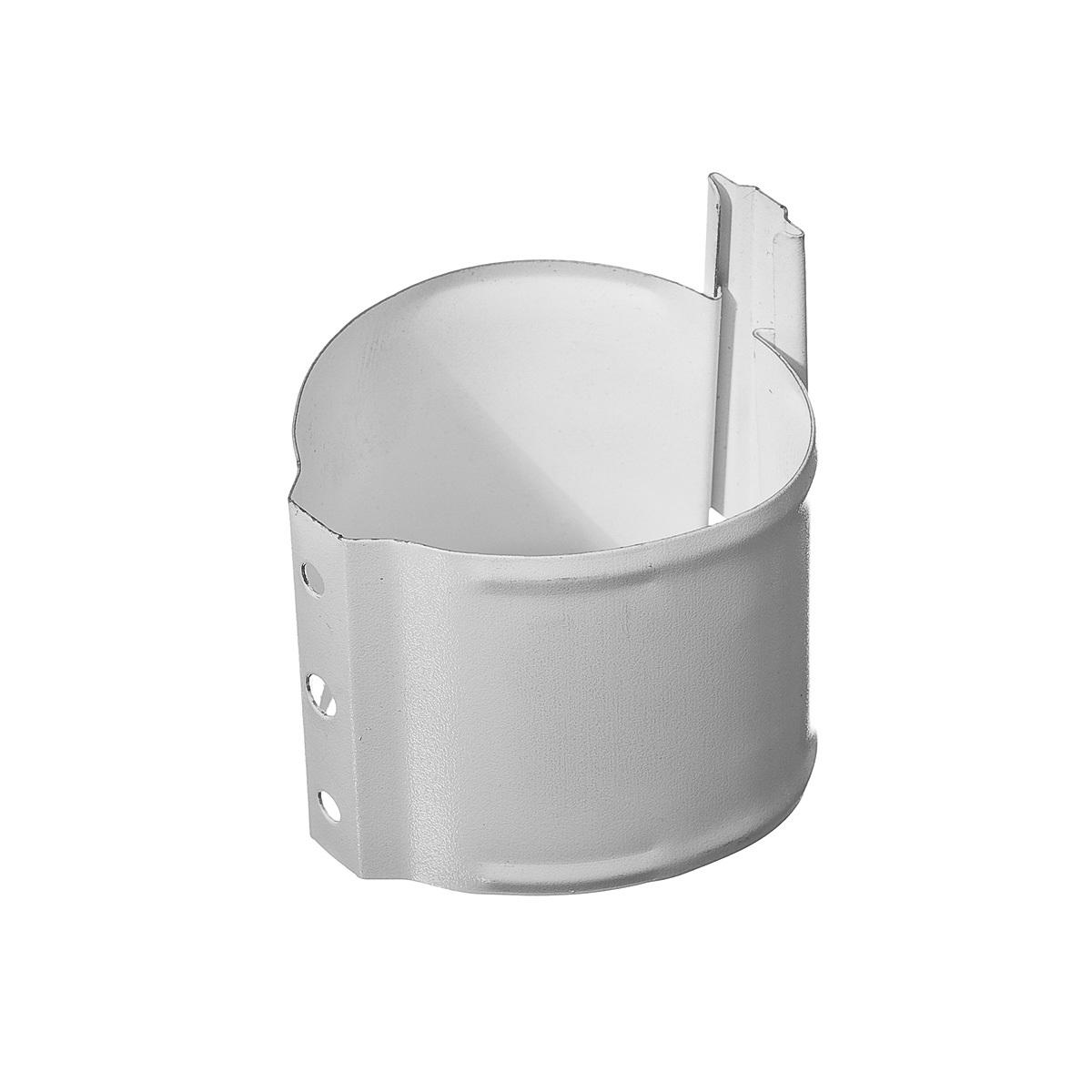 Белый Кронштейн трубы на кирпич ф90 (RAL 9003) Кронштейн_трубы_на_кирпич_ф90__RAL_9003_.JPG