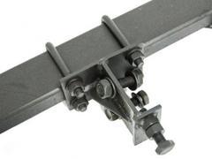 Сцепка двойная универсальная Скаут для минитрактора и мотоблока