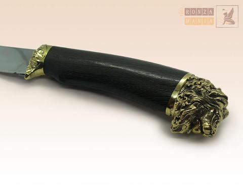 нож Лев с чехлом