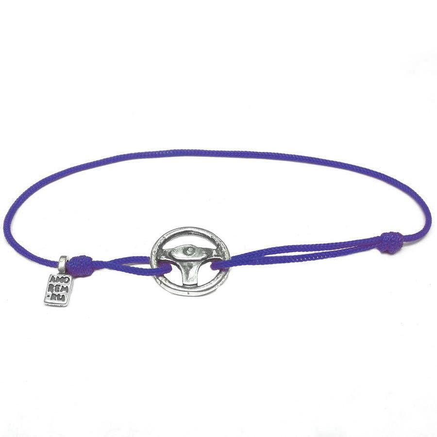 Steering Wheel bracelet, sterling silver