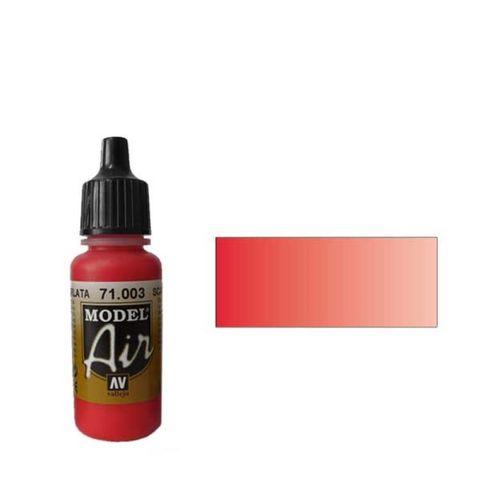 003 Краска Model Air Алый (Red RLM23) укрывистый, 17мл