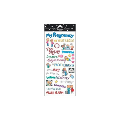 Стикеры mambi Specialty Stickers Pregnancy 13х30 см