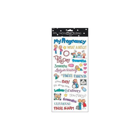 Стикеры mambi Specialty Stickers Pregnancy 13х30 см
