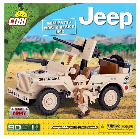 24093 американский Jeep Willys MB North Africa
