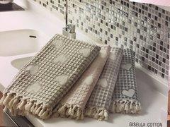 Набор вафельных полотенец 3 предмета GISELLA  КИСЕЛЛА Maison Dor  Турция