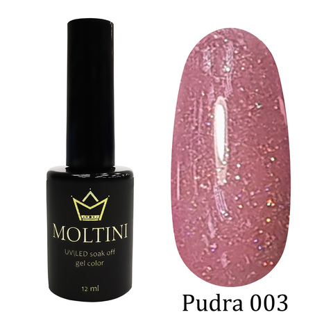 Гель-лак Moltini Pudra 003, 12 ml