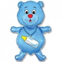 F Мини-фигура Медвежонок мальчик (синий) 14