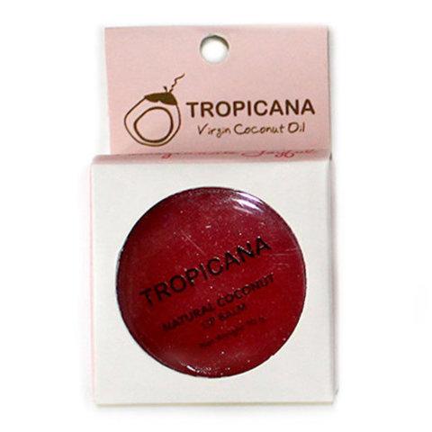 Tropicana Бальзам для губ, 10 гр, ГРАНАТ