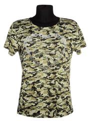 W658-18 футболка женская, цветная