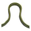 Линь плавающий плоский Ø10 мм/ 25 м, желто-черный