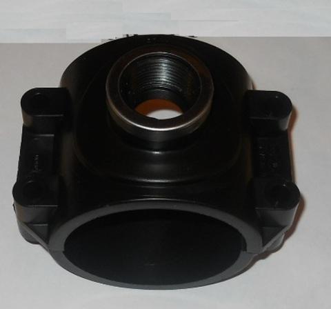 22225559 Адаптер ПВХ для крепления вакуумрегулятора к трубе диа. 90х1