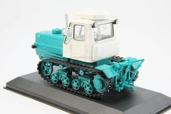 Tractor T-150 white-turquoise 1:43 Hachette #47